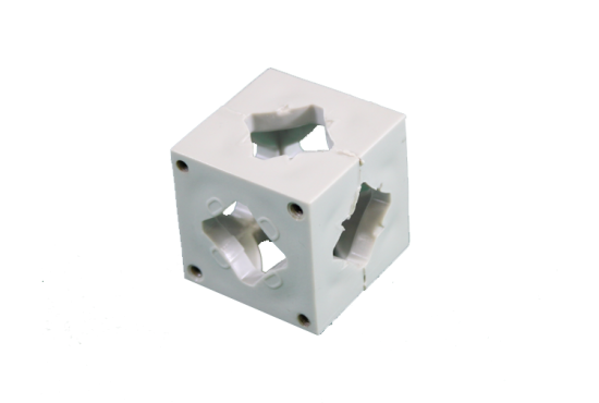 Photo Booth Frame Connector Block - Grey