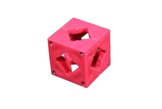 Photo Booth Frame Connector Block - Red