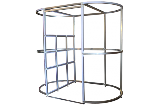 Oval Photo Booth Frame